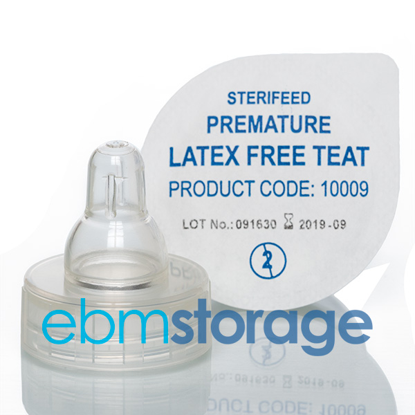 Sterifeed latex free teat - Premature 10009